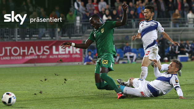Horn - Austria Lustenau 1:3 - das Highlight-Video (Bild: GEPA)
