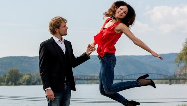 Thommy Ten und Amélie van Tass (Bild: IMRE ANTAL)