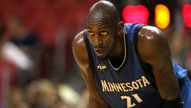 NBA-Superstar Kevin Garnett beendet seine Karriere (Bild: APA/AFP/Mike Ehrmann)