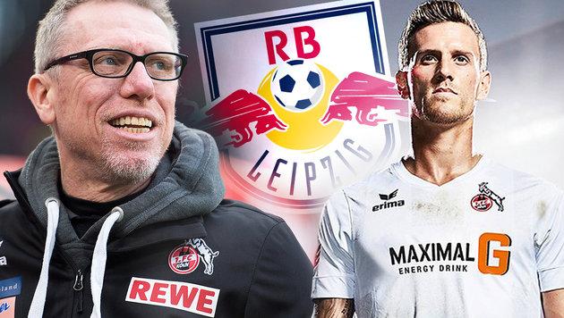 Neues Trikot: Stöger-Klub Köln provoziert Leipzig! (Bild: APA/dpa/Marius Becker, RB Leipzig, twitter.com)
