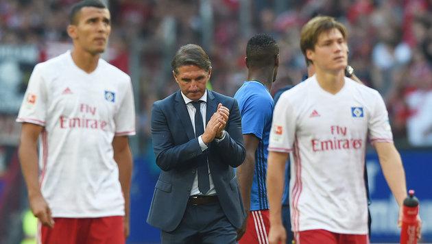 Hamburger SV trennt sich von Trainer Labbadia (Bild: GEPA)