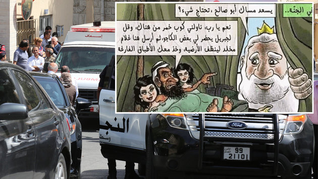 Jordanien: Christlicher Autor vor Gericht getötet (Bild: AP/Twitter)