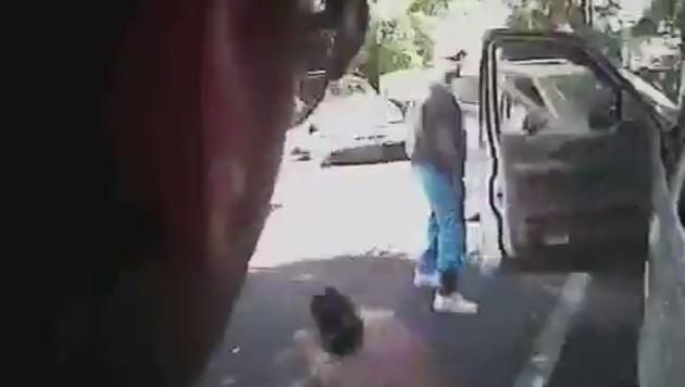 Das Video zeigt, wie die Beamten Keith Lamont Scott erschießen. (Bild: APA/AFP/Charlotte-Mecklenburg Police Dep)