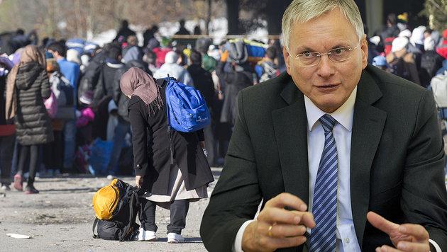 Sozialminister Alois Stöger ist der Meinung, Bürgermeister sollten über die Tätigkeiten entscheiden. (Bild: APA/Erwin Scheriau, APA/Herbert Pfarrhofer)