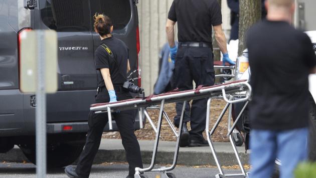 Schütze nach Angriff in US-Einkaufszentrum gefasst (Bild: Associated Press)