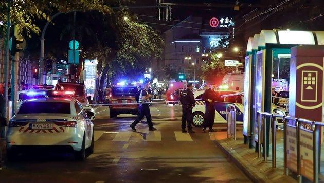 Budapest: Rätseln um Explosion eines Sprengsatzes (Bild: APA/AFP/STR)