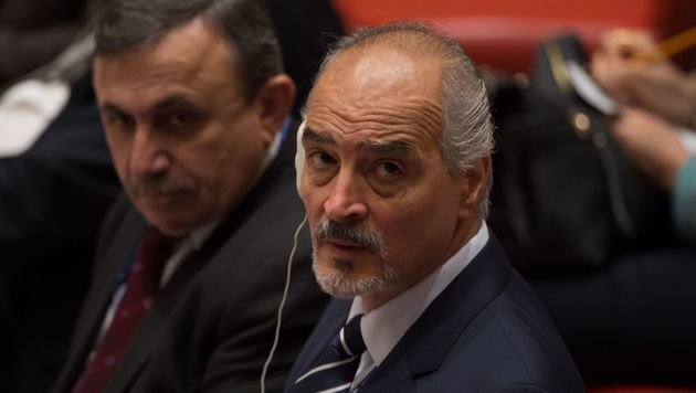 Syriens UN-Botschafter Bashar al-Ja'afari (Bild: APA/AFP/BRYAN R. SMITH)