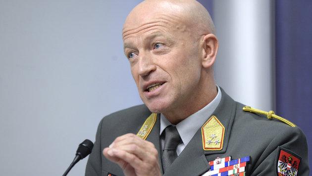 Generalleutnant Karl Schmidseder (Bild: APA/HANS KLAUS TECHT)