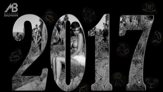 """Manfred Baumanns Kalender für 2017 heißt: """"The Erotic Zodiac"""" (Bild: Manfred Baumann)"""
