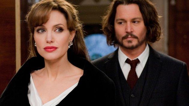 Johnny Depp, Angelina Jolie (Bild: (c) AP)