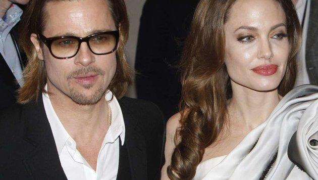 Brad Pitt, Angelina Jolie (Bild: Viennareport)