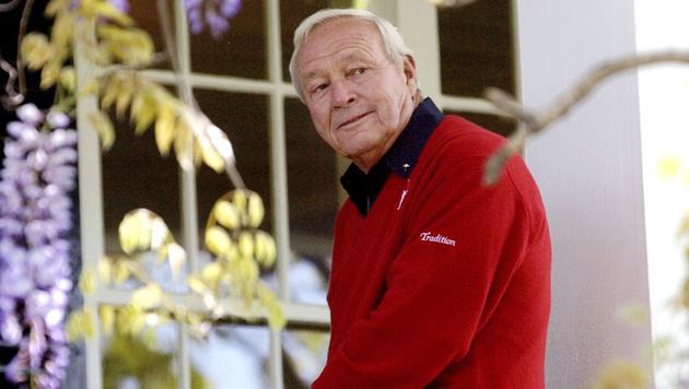 Golf-Legende Arnold Palmer mit 87 Jahren gestorben (Bild: AP)