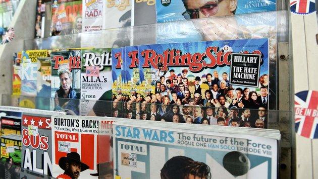 """""""Rolling Stone"""" bekommt jungen Co-Eigentümer (Bild: APA/AFP/ROSLAN RAHMAN)"""