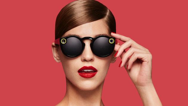 Snapchat enthüllt Sonnenbrille mit Kamera (Bild: Snapchat)