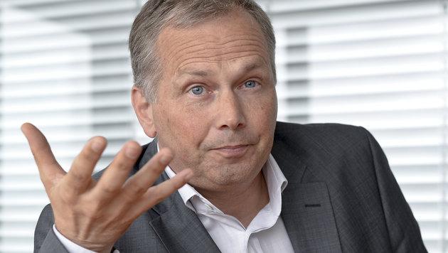 """News""-Chef Horst Pirker (Bild: APA/HERBERT NEUBAUER)"