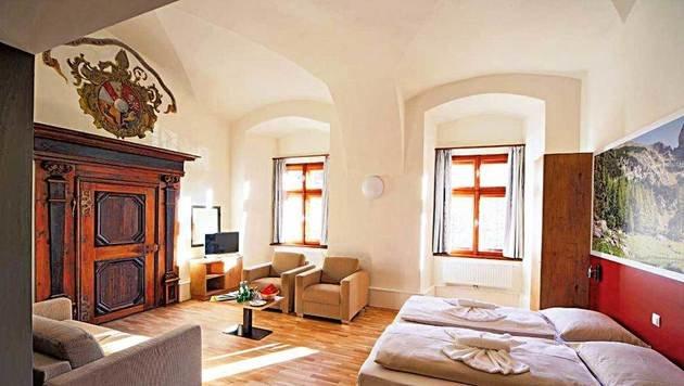 Die Zimmer im ehemaligen Stift präsentieren sich hell, freundlich und einladend. (Bild: JUFA)