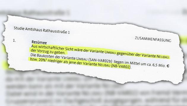 """Glaspalast: Neubau kommt Wienern teuer zu stehen (Bild: """"Krone""""-Grafik)"""