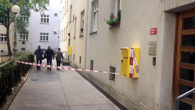 In diesem Haus im Wiener Bezirk Favoriten kam es zur Bluttat. (Bild: Andi Schiel)