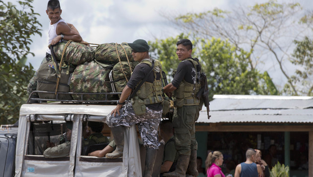 FARC-Kämpfer (Bild: Associated Press)