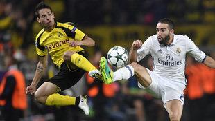 Dortmund erk�mpft hitziges 2:2 gegen Real Madrid! (Bild: Associated Press)