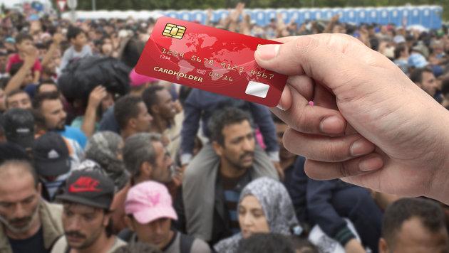 EU stattet Türkei-Flüchtlinge mit Geldkarten aus (Bild: APA/ERWIN SCHERIAU, thinkstockphotos.de)
