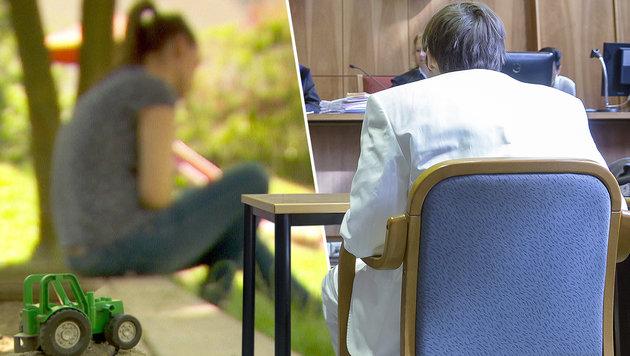 Die 23-jährige Elena R. (linkes Bild) war mit dem Todeslenker Alen R. verheiratet. (Bild: ORF, APA/ERWIN SCHERIAU)