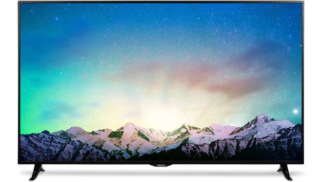 Hofer verkauft 65-Zoll-4K-Fernseher für 1000 Euro (Bild: Medion)