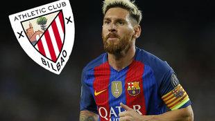 """Messi will man in Bilbao nicht mal geschenkt!"" (Bild: Associated Press)"