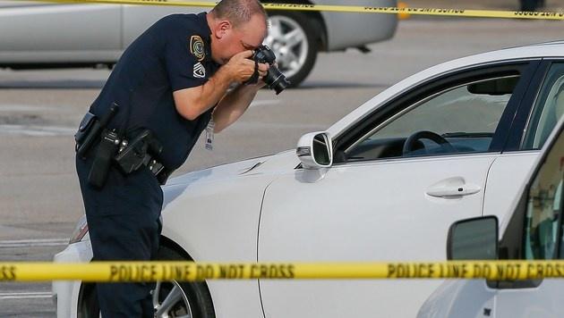 Texas: Anwalt schoss auf Autos - neun Verletzte (Bild: APA/AFP/GETTY IMAGES/Bob Levey)