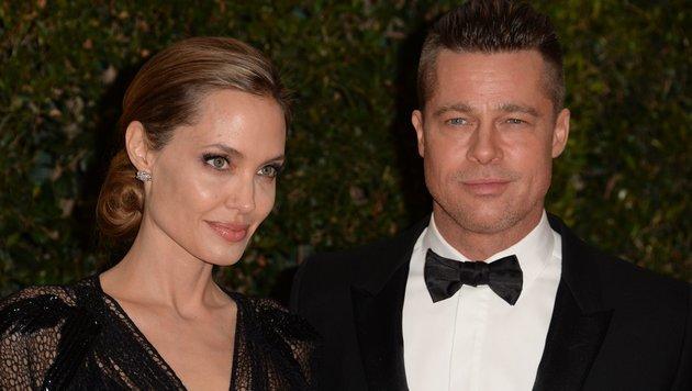 Angelian Jolie und Brad Pitt (Bild: AFP)