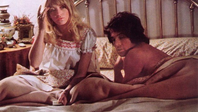 "Warren Beatty mit Goldie Hawn im Film ""Shampoo"" (Bild: face to face)"