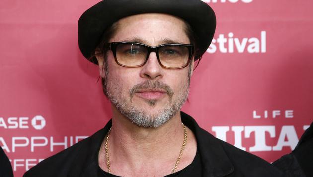 Brad Pitt (Bild: Danny Moloshok/Invision/AP)