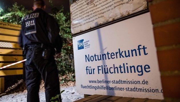 Die Asylwerberunterkunft in der Kruppstraße in Berlin-Moabit (Bild: EPA)