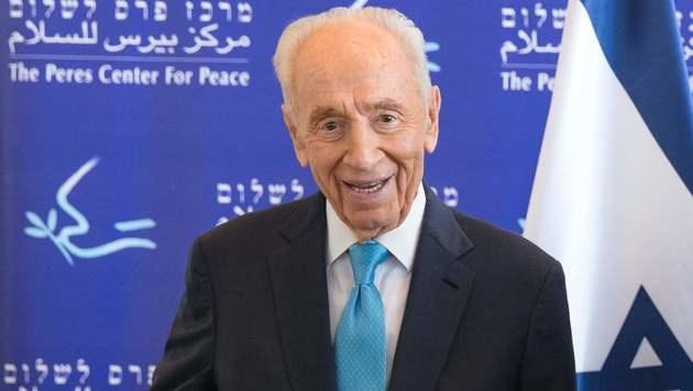 Shimon Peres (Bild: APA/AFP/JACK GUEZ)