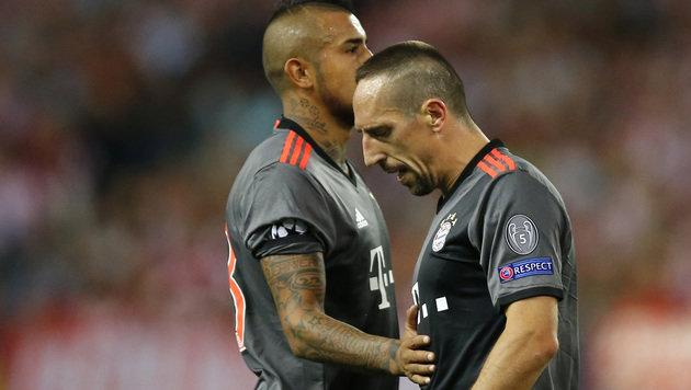 FC Bayern stolpert bei Atletico Madrid zu 0:1! (Bild: AP)