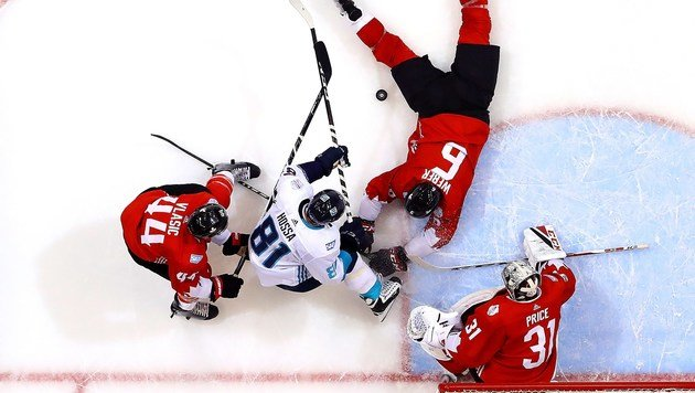 "Kanada gewinnt erstes ""World Cup of Hockey""-Finale (Bild: APA/AFP/GETTY IMAGES/BRUCE BENNETT)"