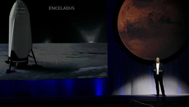 """Die ersten Siedler sollen noch """"zu unseren Lebzeiten"""" auf dem Mars landen. (Bild: ASSOCIATED PRESS)"""