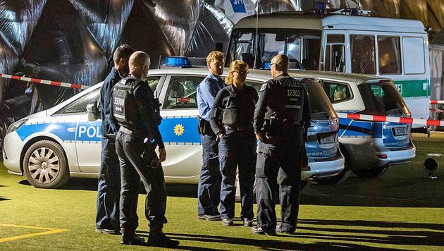 Berlin: Migrant in Asylheim von Polizei erschossen (Bild: EPA)