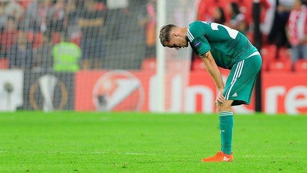 Rapid verpasst Sensation! Bitteres 0:1 in Bilbao (Bild: AFP)