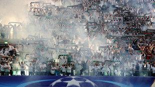 80.000 � Strafe und Geisterspiel f�r Legia! (Bild: Associated Press)