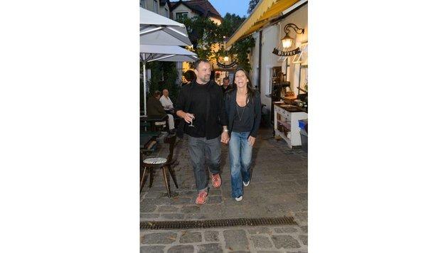 Ein fröhliches Paar: Juergen Maurer und Maria Köstlinger (Bild: Viennareport)