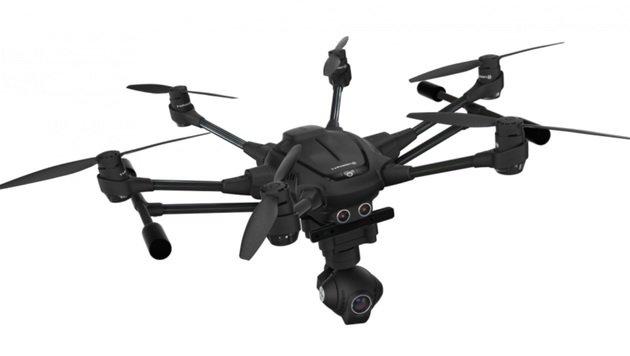 Yuneec Typhoon H: Realsense-Drohne mit 4K-Kamera (Bild: Yuneec/Intel)