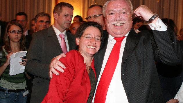 Wiens Bürgermeister Michael Häupl steht noch zu seiner Stadträtin Sonja Wehsely. (Bild: Peter Tomschi)