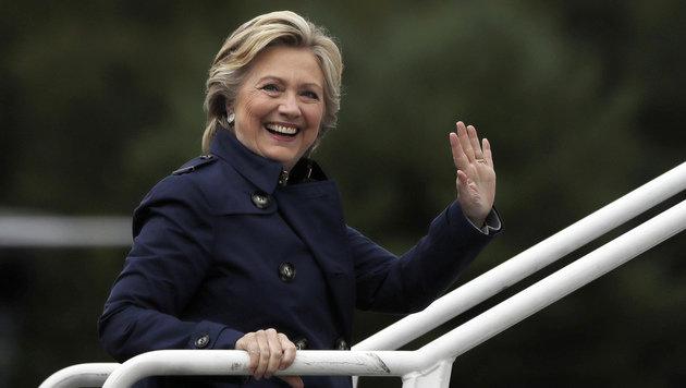 Die Österreicher mögen Hillary Clinton. (Bild: ASSOCIATED PRESS)