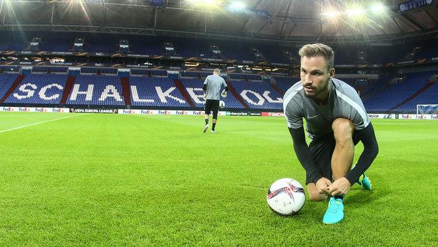 """Schalke: Highlight auch für """"Bullen""""-Routinier (Bild: GEPA)"""