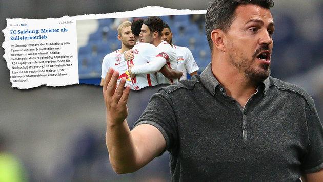 "Schalke stänkert gegen Salzburg: ""Zulieferbetrieb"" (Bild: schalke04.de, GEPA)"