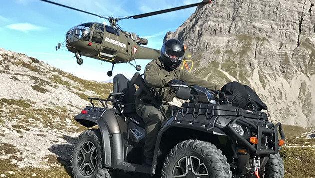 Unser Heer rüstet auf: Sechs neue Quads im Dienst (Bild: Hannes Wallner)