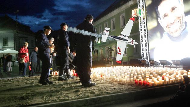 """Air Race: """"Wir fliegen dieses Rennen für Hannes"""" (Bild: Sepp Pail, GEPA)"""