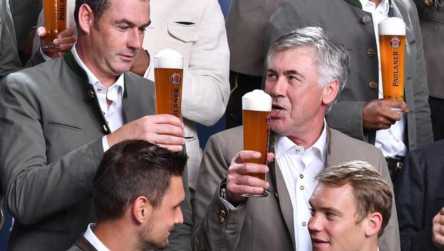 Ancelotti: Drei Bier für einen Sieg gegen Köln (Bild: GEPA)
