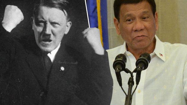 """Duterte will """"Millionen Süchtige abschlachten"""" (Bild: Wikipedia, AFP/HOANG DINH NAM)"""